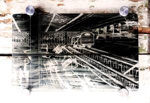 derelict train alx creations glass art