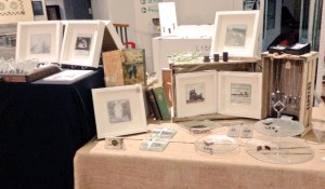 memory glass art craft fair