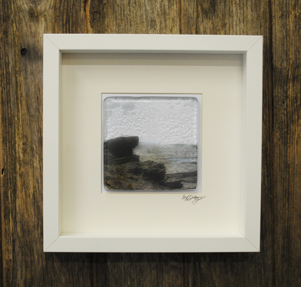 yorkshire fused glass landscape art marsden moor
