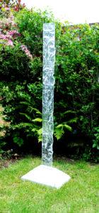 alx creations glass garden sculptures